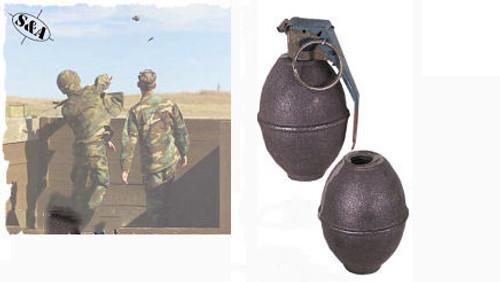 Dummy Hand Grenade -Lemon w/Fuse Kit