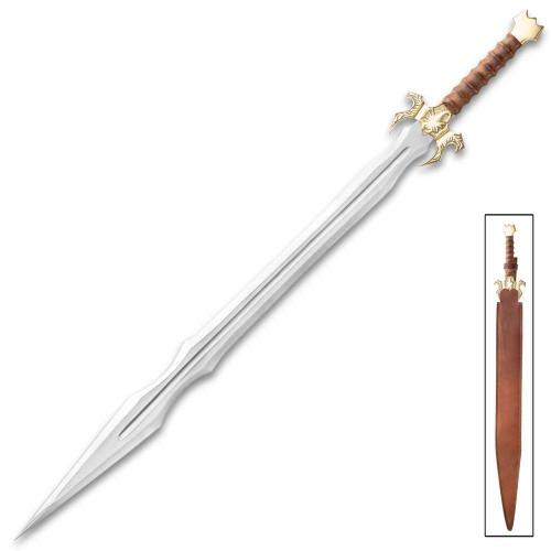 Golden Scorpion Sword And Sheath