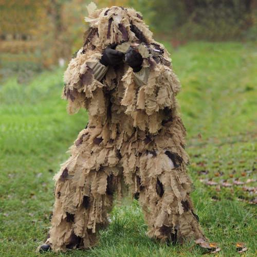 Mil-Tec Desert Oak Leaf Camo Ghillie Suit XL/2XL