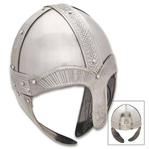 Viking Helmet With Nose Guard