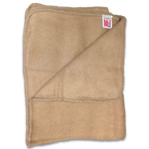 Italian Military Surplus Tan Fire-Resistant Blanket