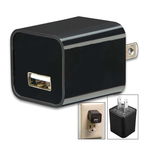 Night Watchman 8GB USB Spy Camera And Charger