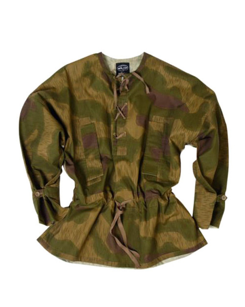 German Armed Forces Repro WWII Tan Water Camo Sniper Anorak