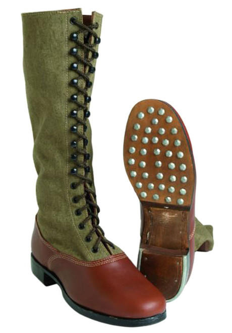 German Repro WWII Afrika Corp High Boots