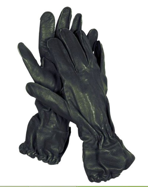 German Repro WWII Leather Paratrooper Gloves