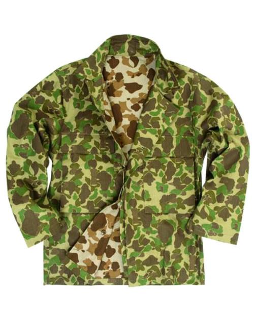 US Repro WWII Camo HBT Shirt