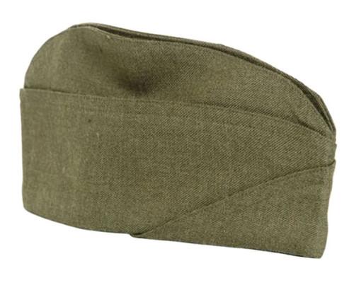 US Repro WWII OD Wool Overseas Cap