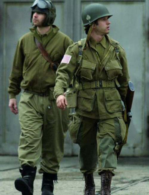 US Repro WWII M42 Reenforced Paratrooper Suit