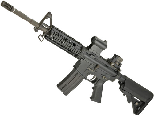"LCT Airsoft LR-4 RIS Airsoft Electric Blowback AEG with 7"" Free-Floating Handguard"