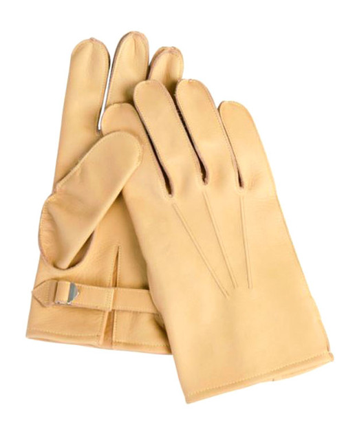 US Repro WWII Leather Paratrooper Gloves