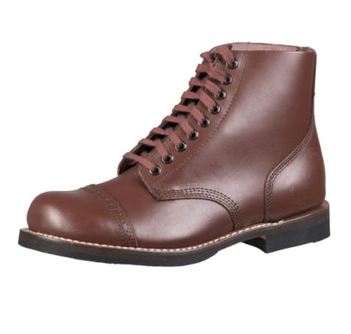 US Repro WWII Brown Russet Service Shoes