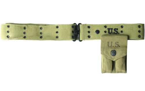 US Repro WWII M36 Khaki Pistol Belt