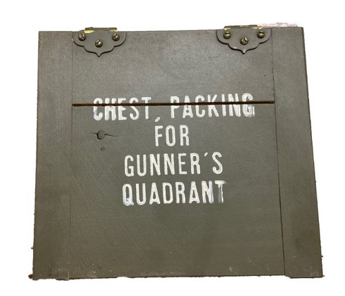 US Armed Forces GI OD Wooden Gunners Box