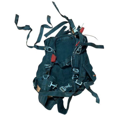 U.S. Armed Forces MC-4 Black Parachute Harness