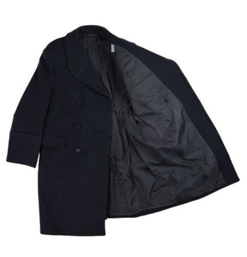 Polish Navy Wool Overcoat