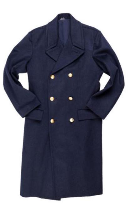 Italian Blue/Grey Af Overcoat