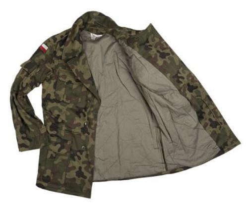 Polish Camo M93 Field Jacket W/Liner