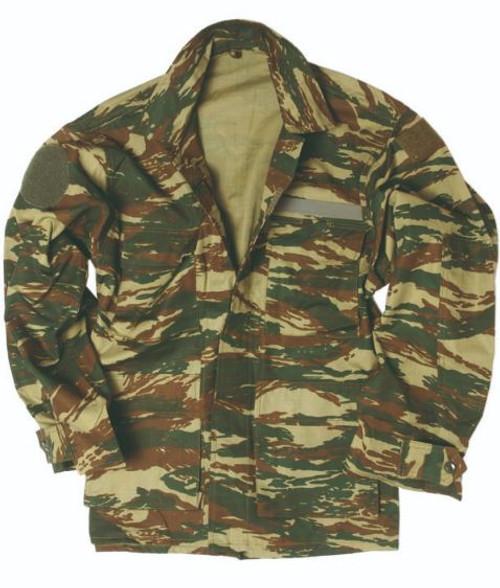 Greek Camo Bdu Jacket
