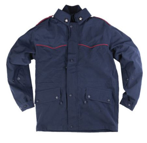 Italian Blue Carbineri Cold Wtr. Motorcycle Jacket
