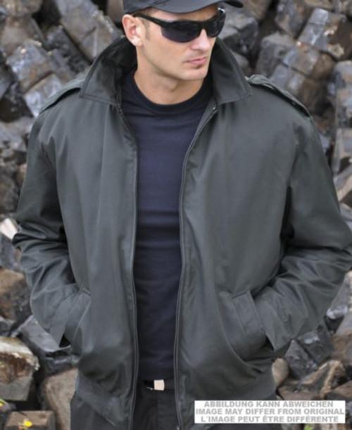 Dutch Black Flight Jacket W/Liner