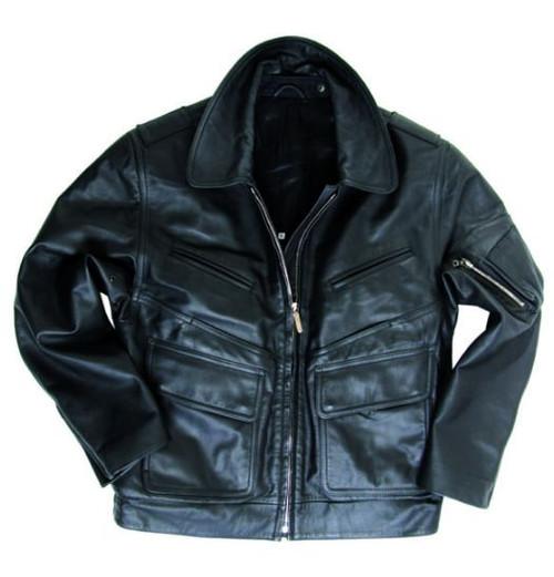 BGS Ladies Black Leather Jacket