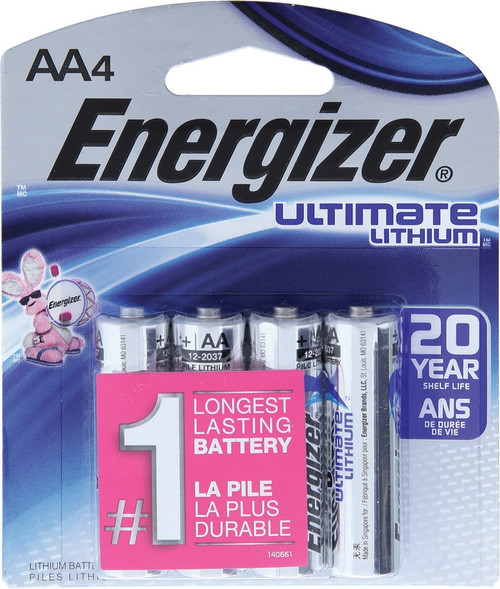 Ultimate Lithium AA Battery