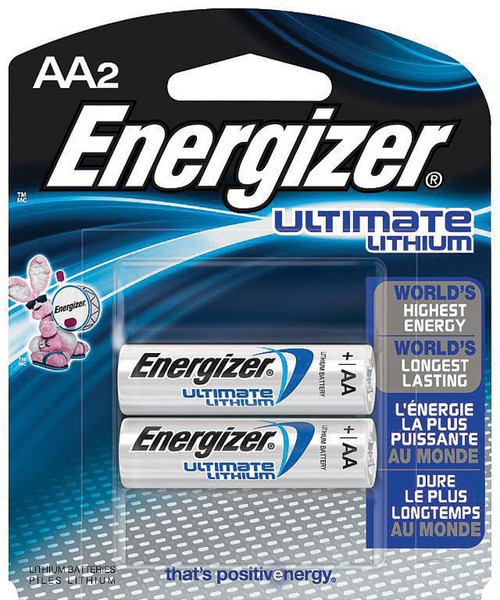 Ultimate Lithium AA Battery ENRL912