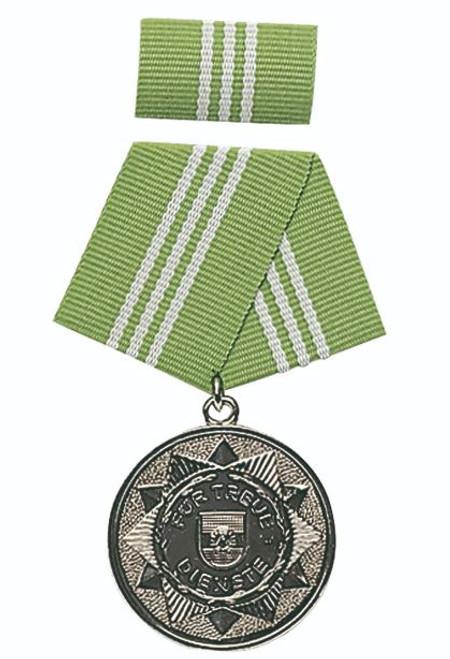 MDI Silver 10-Yr. Service Medal