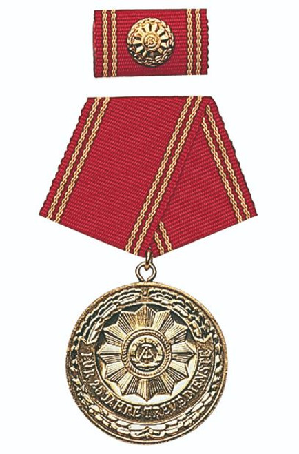 MDI Gold 25-Yr. Service Medal