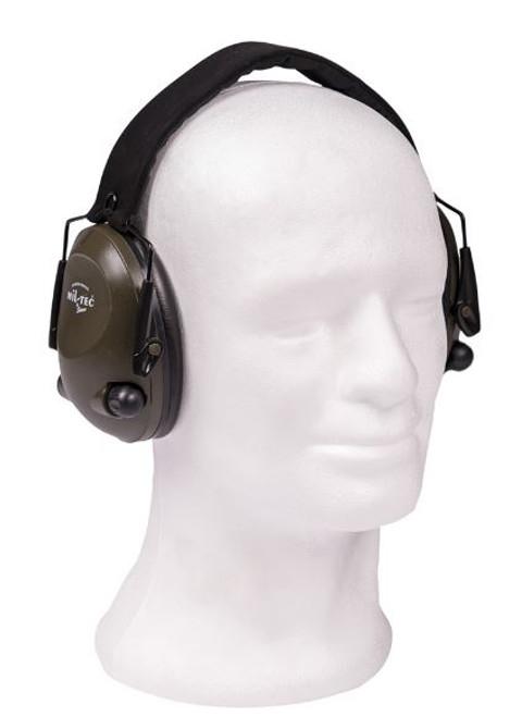 Mil-Tec Od Electronic Ear Defenders