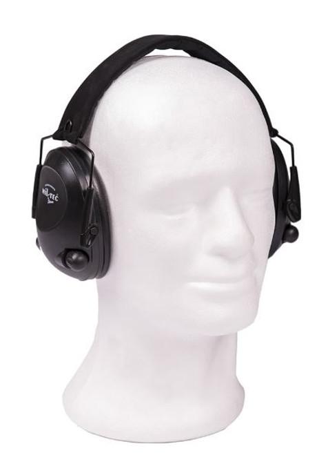 Mil-Tec Black Electronic Ear Defenders