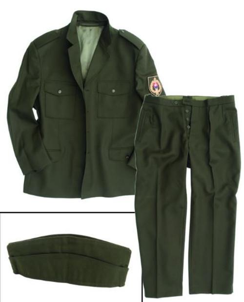 Czech Armed Forces M98 Uniform Set W/Overseas Cap