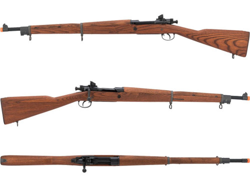 G&G Top Tech GM1903 A3 Airsoft Green Gas / CO2 Gas Rifle with Real Wood Furniture (Finish: Standard Finish / CO2)