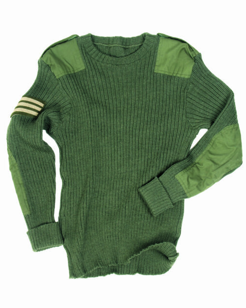 British Armed Forces  Olive Drab Commando Sweater