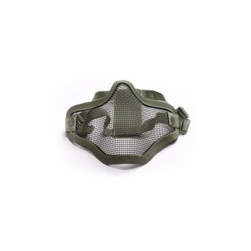ASG Metal Mesh Half-Mask - OD Green