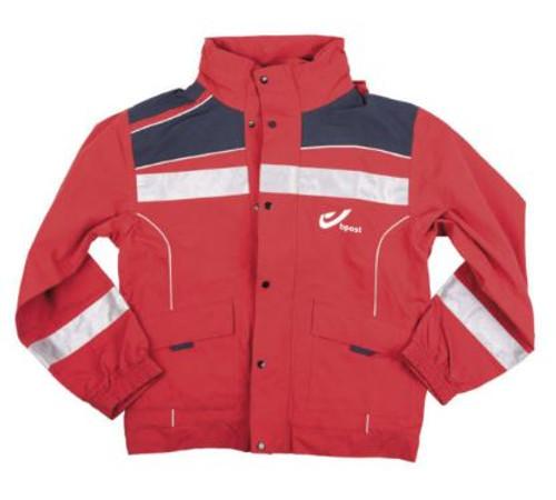 Belgium Red Postal Jacket
