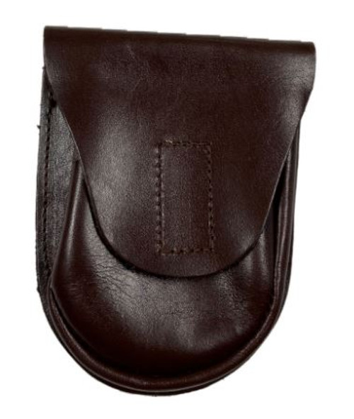 Czech Armed Forces Brown Leather Hand Cuff Pouch