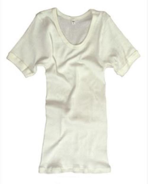German White SH SL Undershirt