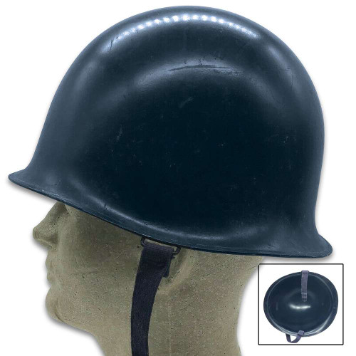 French Dark Blue Gendarmerie Helmet