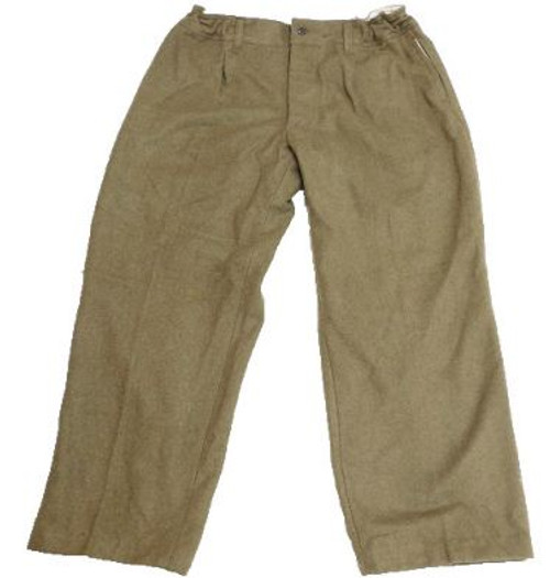 Italian OD Wool Uniform Pants