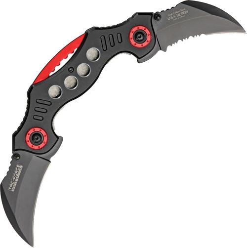 Twin Blade Linerlock A/O