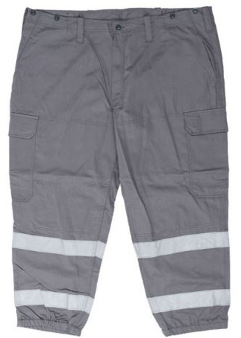 Czech Armed Forces Grey Cd Fr Work Pants