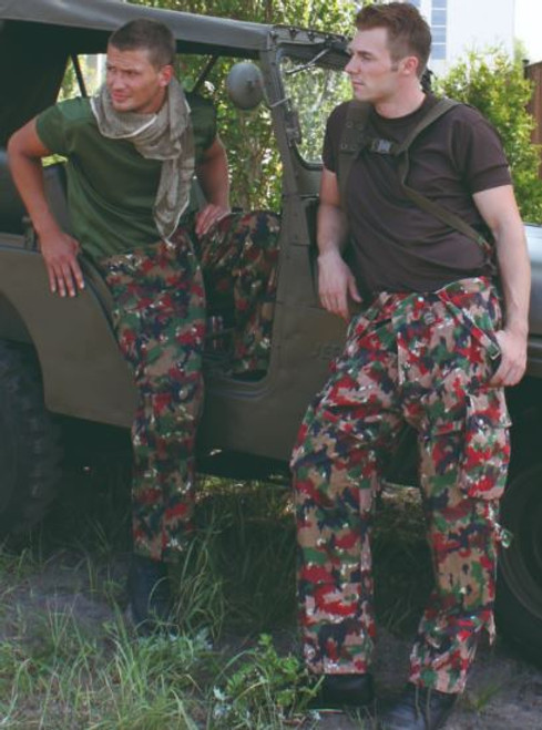 Swiss Armed Forces M83 Camo Field Pants