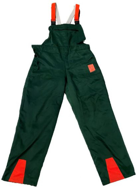 German Armed Forces Green Cut Resistant Pants W/Flap