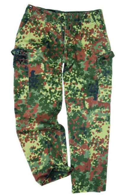 German Armed Forces Flectar Camo Field Pants