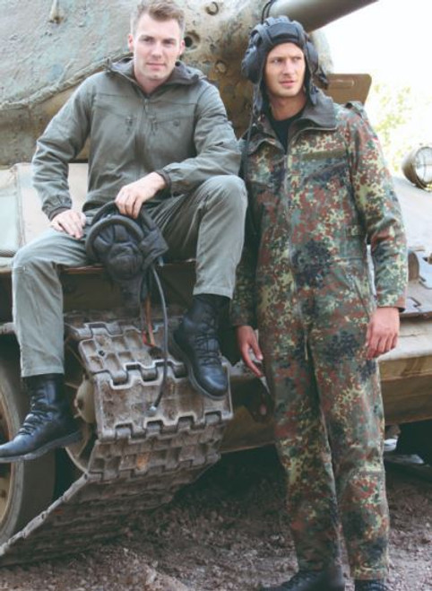 German Armed Forces Flectar Camo Tanker Coverall
