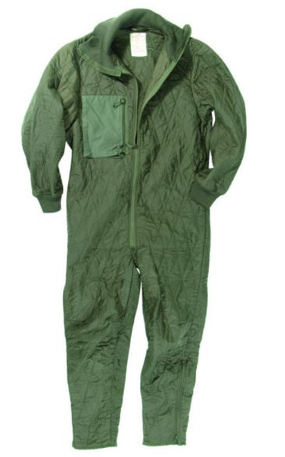 German Armed Forces Tanker Quilted Coverall Liner