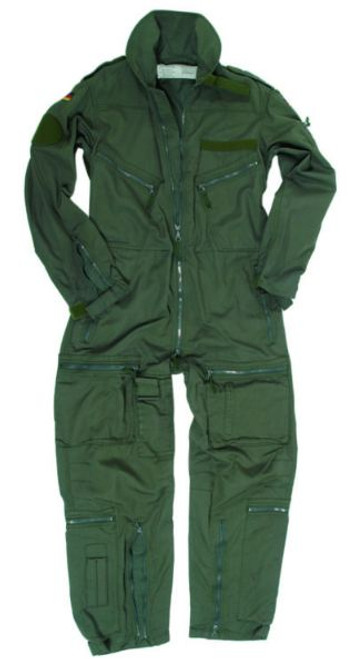 German Armed Forces Green Flight Coverall