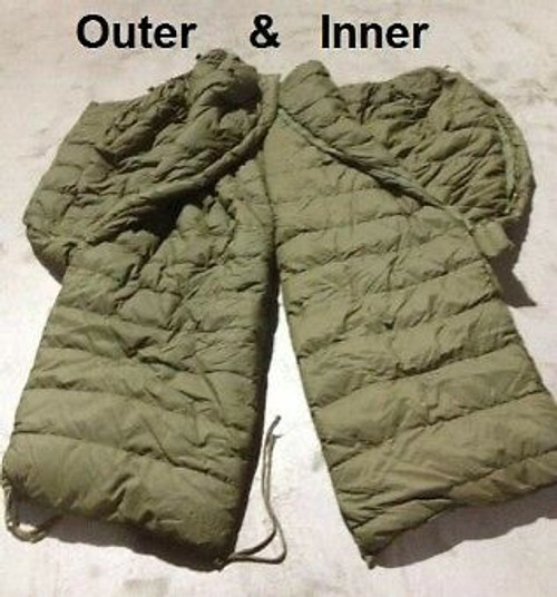 Canadian Armed Forces INNER Sleeping Bag - AS IS Condition