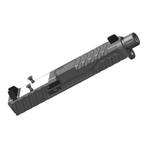 Dytac SLR Rifleworks RMR Slide Kit for Elite Force GLOCK 19 Gen.3 Airsoft GBB Pistols